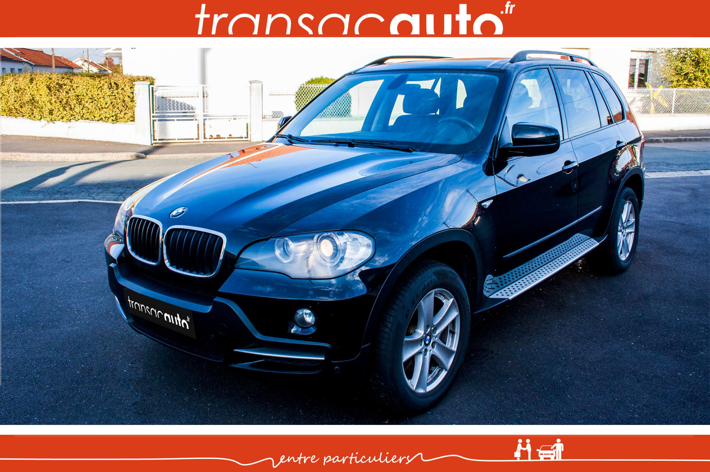 bmw x5 3 0d 235cv 2008 pack luxe 7 places. Black Bedroom Furniture Sets. Home Design Ideas